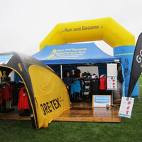 Run and Become Stall at Loch Ness Marathon 2011