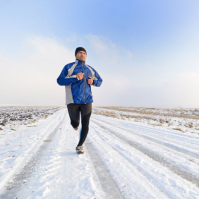 How to Run in Snow