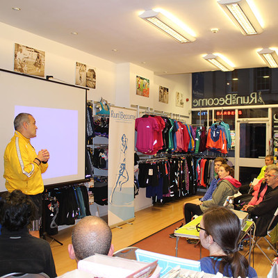 Chi Running Taster Session, 16th November 2015