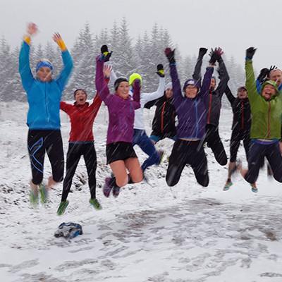 Hoka Highland Fling Training Weekend 2015