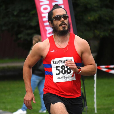Sri Chinmoy Hasty Hare 5K, Battersea Park, 2021