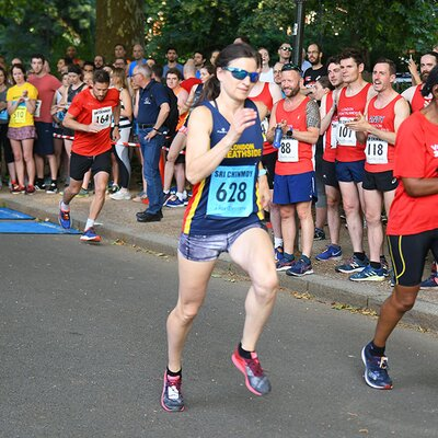 Battersea Relays 3x1 Mile, 2019