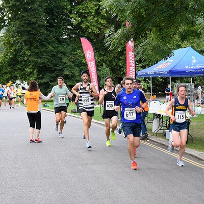 Hasty Hare 5K Race, Battersea Park, 2019