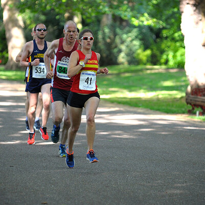 Mid Summer 10K, Battersea Park, June 1st 2019