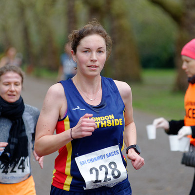 Mad March 10K, Battersea Park, 2019