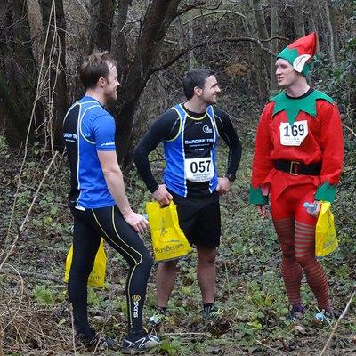 Merthyr Mawr Christmas Pudding Race 2015