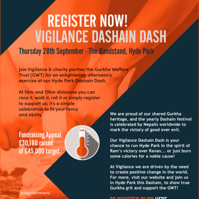 Vigilance Dashain Dash: 5K / 10K Race