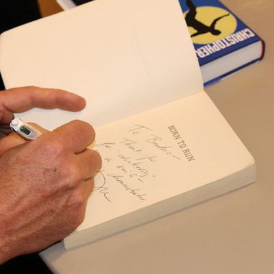 Chris McDougall Signing