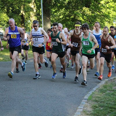 Sri Chinmoy 2 Mile Race: 11th July