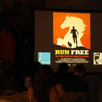 Run Free: Film Night, 4th December 2015