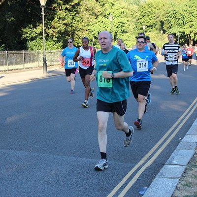 Silver Starling 5K Race, Battersea
