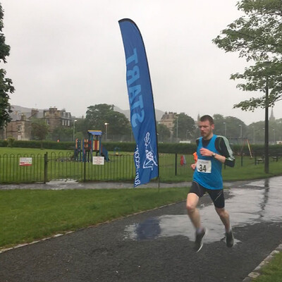 Sri Chinmoy 5K Race, Edinburgh, 12th June 2019