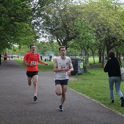 Sri Chinmoy 2 Mile Race, Edinburgh, 22nd May 2019