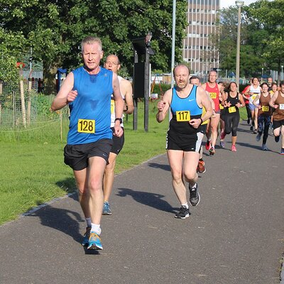 Sri Chinmoy 2 Mile Race, Edinburgh, 19th June 2019