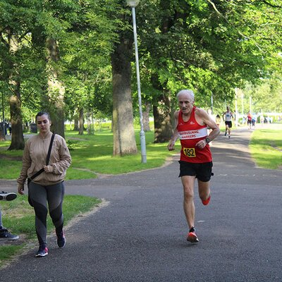 Sri Chinmoy 2 Mile Race, Edinburgh, 3rd July 2019