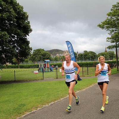 Sri Chinmoy 5K Race, Edinburgh, 10th July 2019
