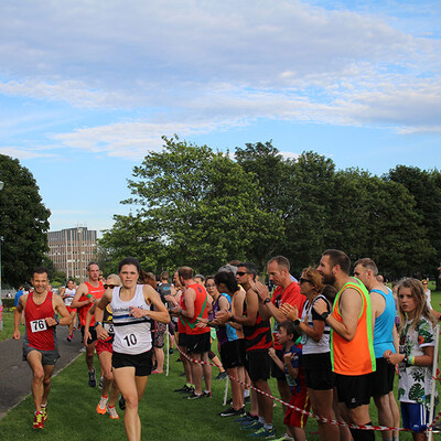 Sri Chinmoy 1 Mile Relay, Edinburgh, 2019