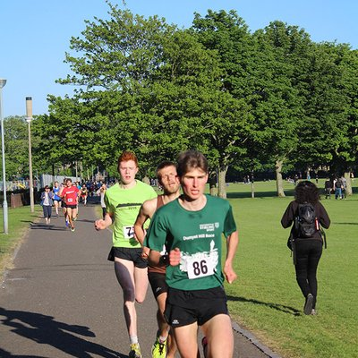 Sri Chinmoy 2 Mile Race, 23rd May 2018