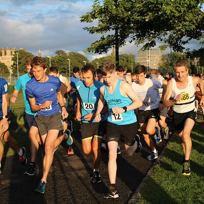 Sri Chinmoy 5K Race, Edinburgh, 4th September 2019