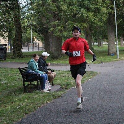 Sri Chinmoy 2 Mile Race, Edinburgh, 11th September 2019