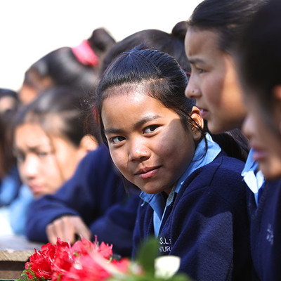 Nepalese Earthquake-Hit School
