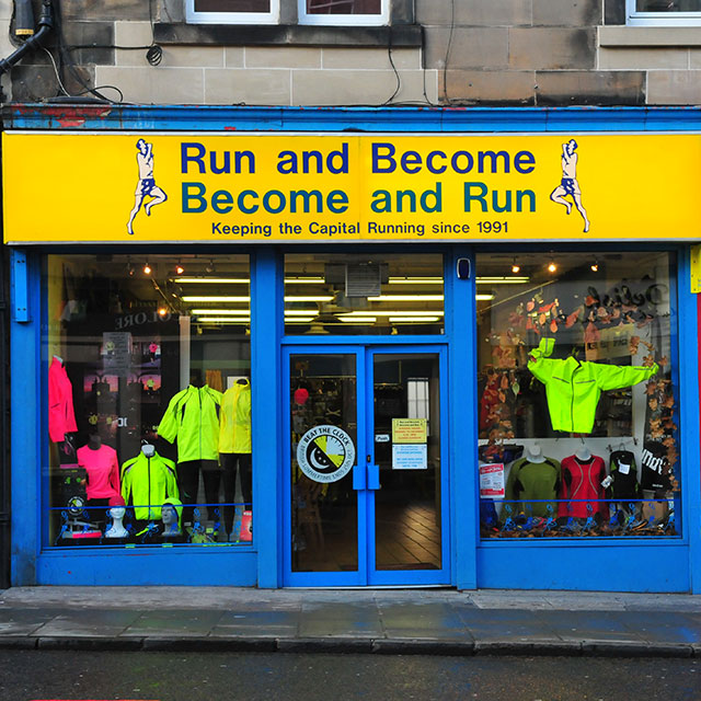 Run and Become Dalry Road