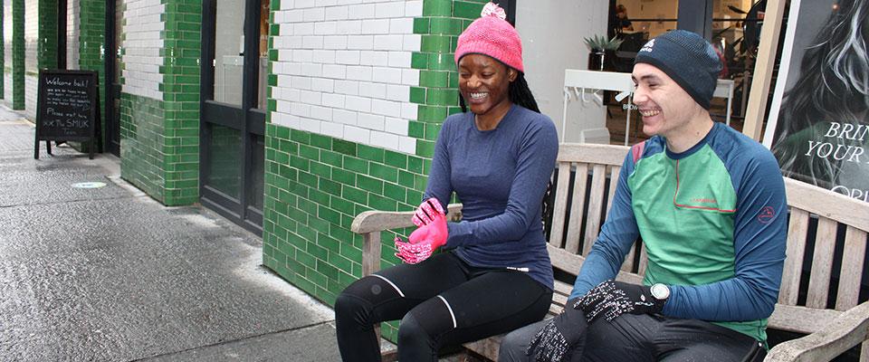 Running Hats & Gloves