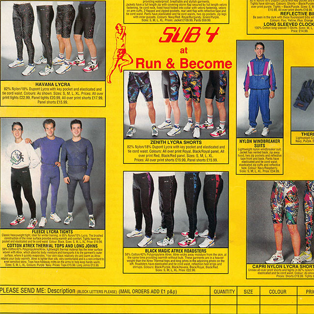 Run and Become retro magazine ad