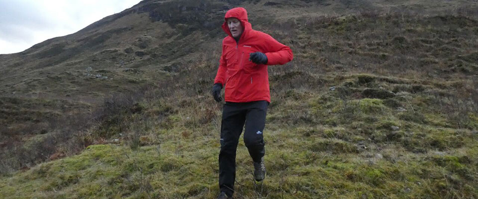 Montane Minimus Jacket in the Highlands