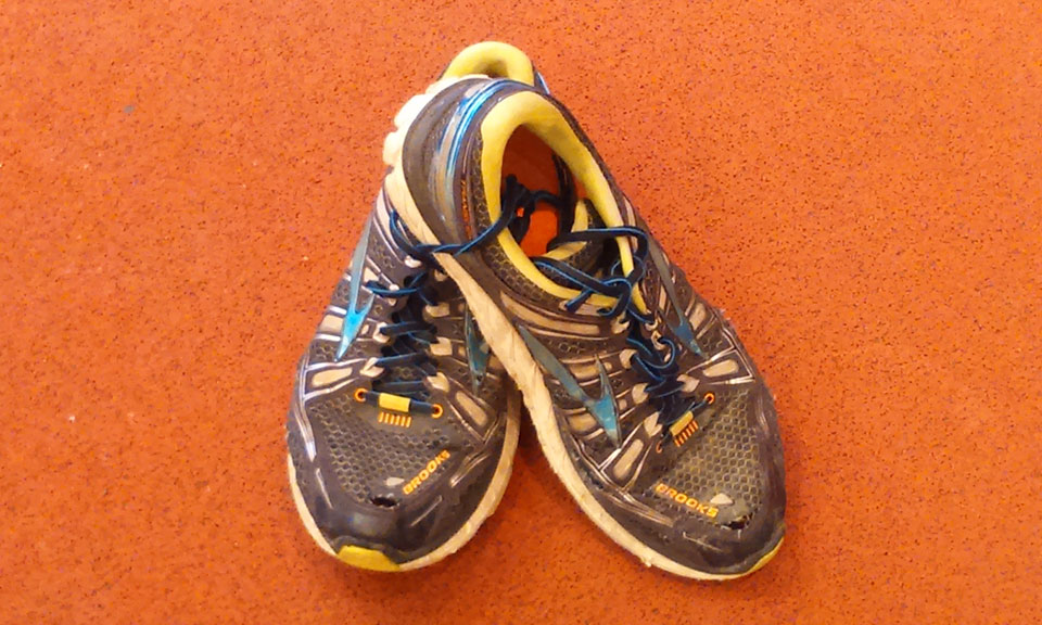 Why is there a hole in my running shoe?