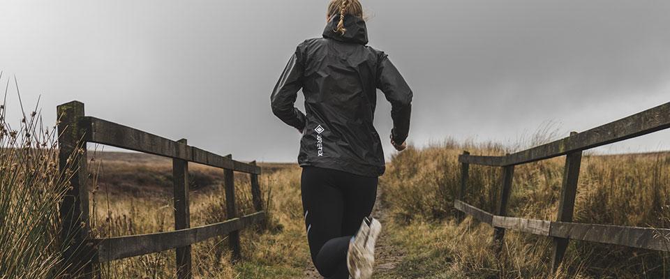 Ronhill Tech GORE-TEX SHAKEDRY Mens Running Jacket Grey