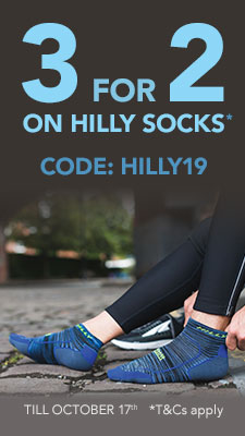 3 for 2 on Hilly socks. T and Cs apply