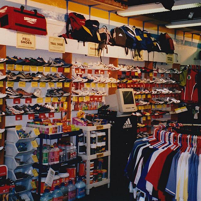 Run and Become Edinburgh retro shoes