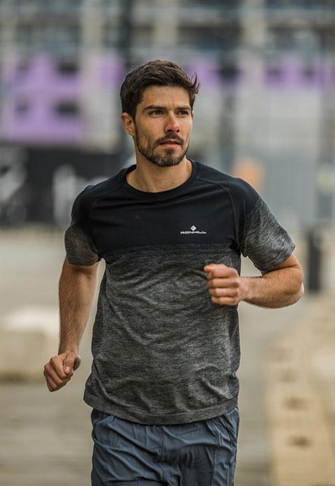 Men's Ronhill Infinity Marathon Tee