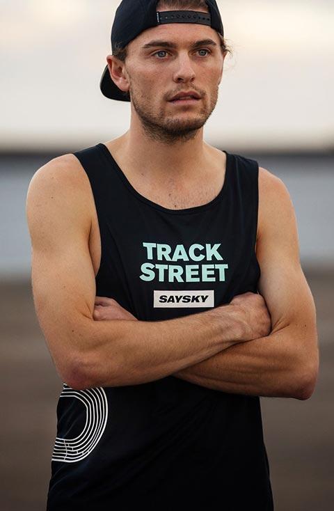 Men's Saysky Track and Street Singlet