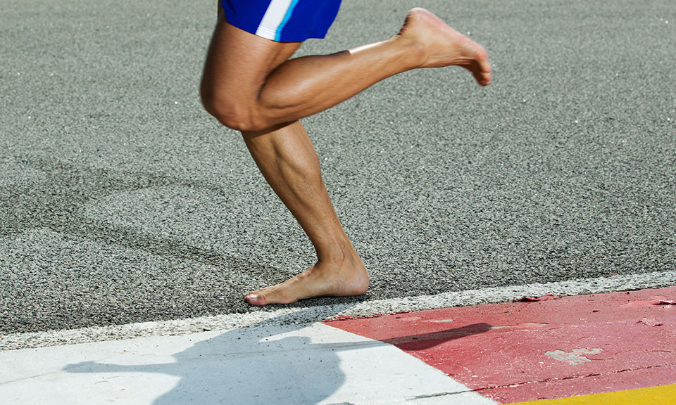 Barefoot Running: from Start to Marathon