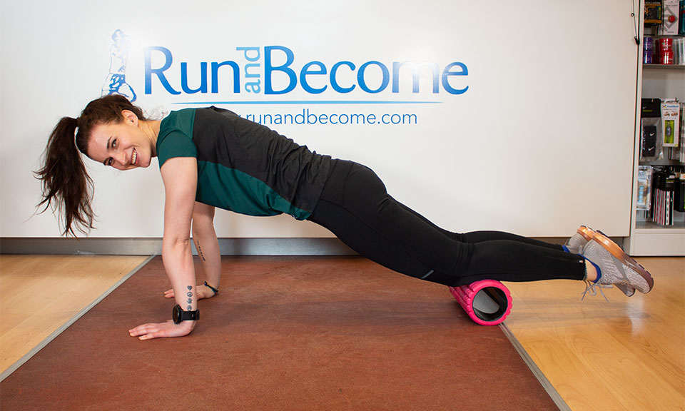 Core Workout for Runners with The Grid Foam Roller
