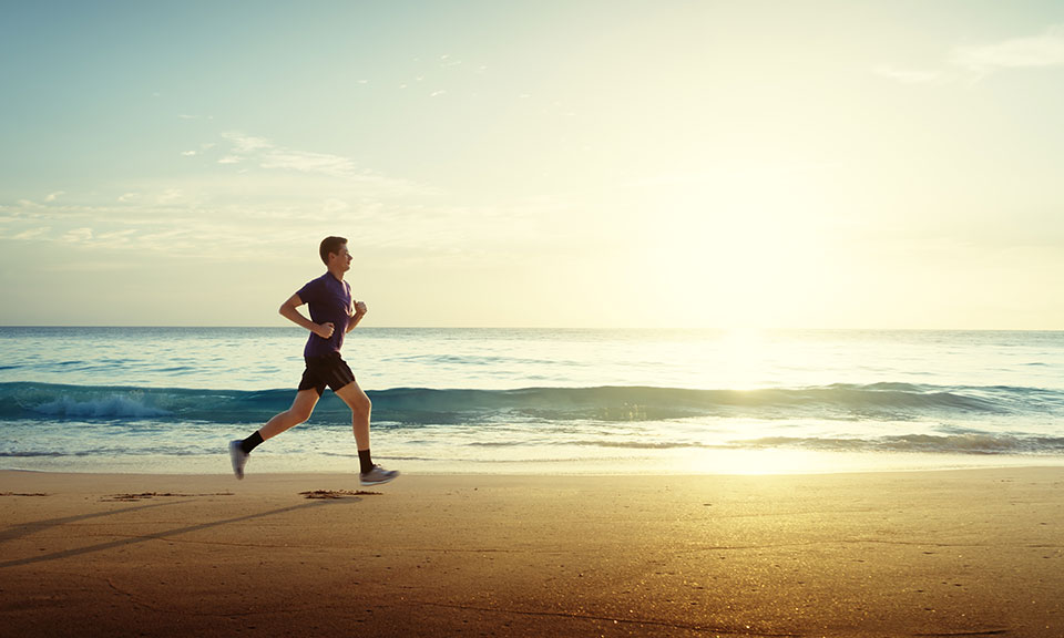 Fun tips for training on holiday