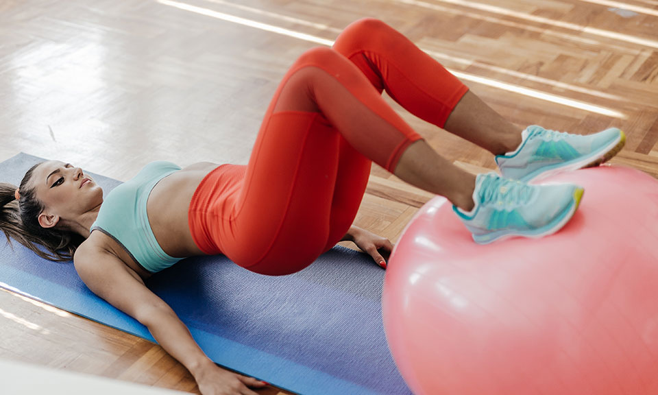5 Swiss Ball Exercises for Strengthening Your Glutes