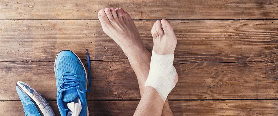 Injured from running