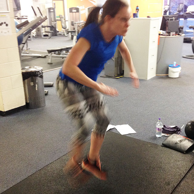 Plyometrics for Runners: Low Stance Jacks