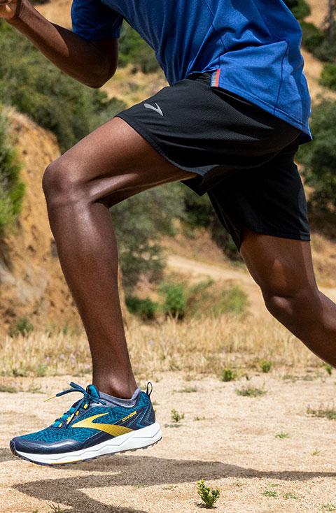 Men's Brooks Cascadia 7in Twin Shorts