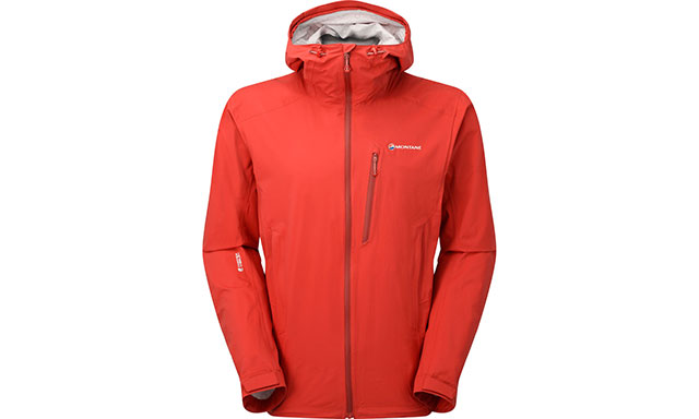 Montane Mens Minimus Stretch Ultra Jacket Top Red Sports Outdoors Full Zip