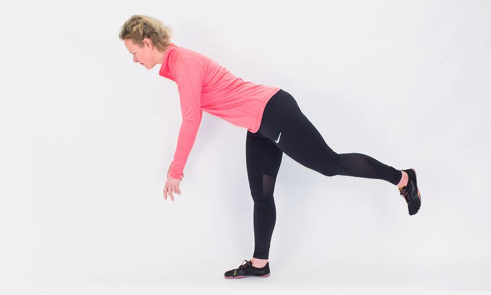Single leg exercises for stronger legs