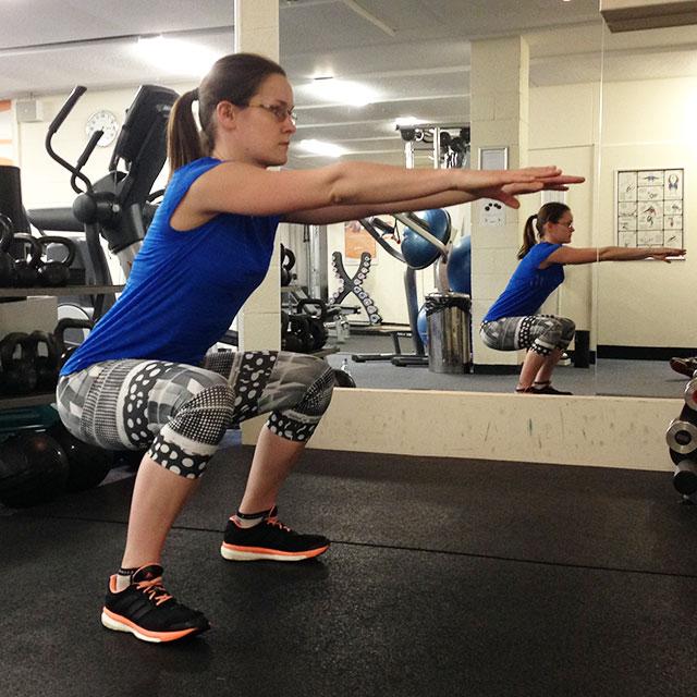 Calisthenics for Runners: Squats