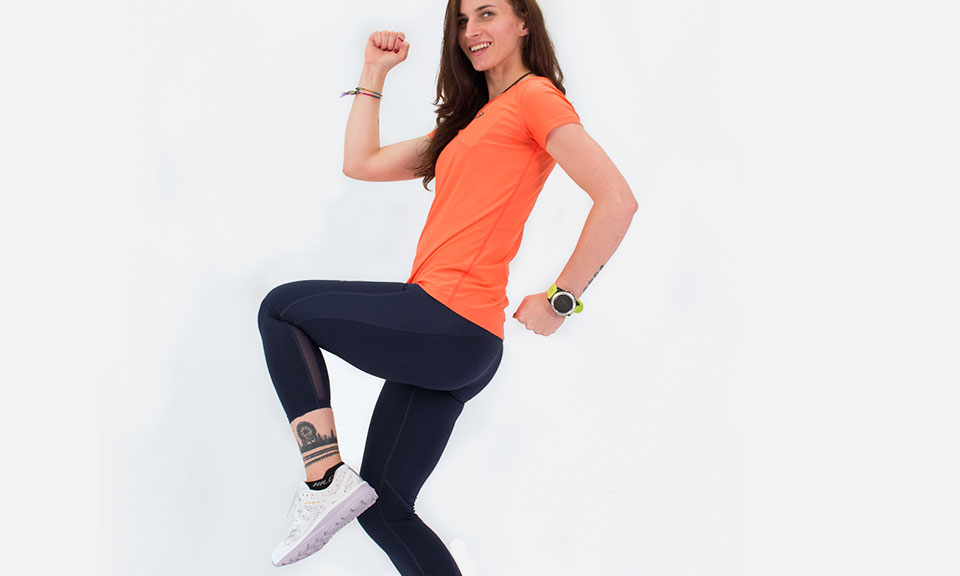 Single leg squats for runners