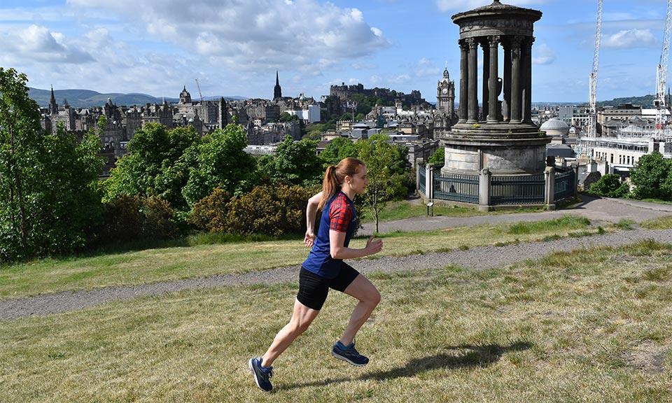 Ronhill Tartan Running Gear