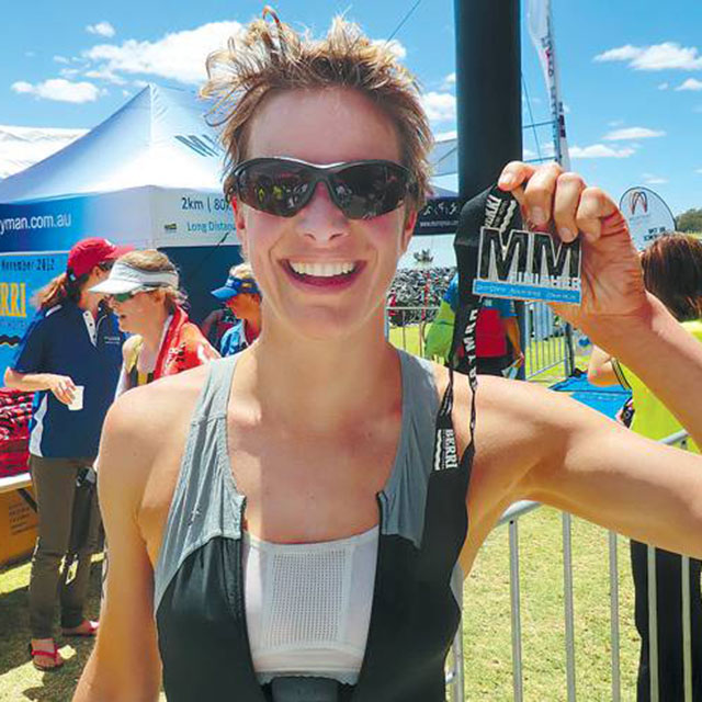 World Champion Triathlete, Kate Strong
