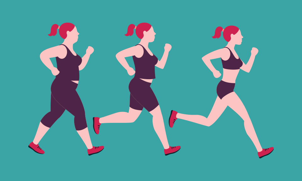 How running can help with weight loss