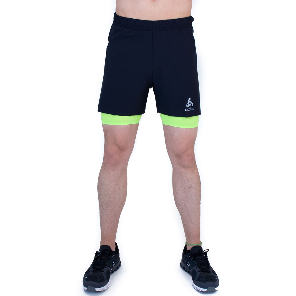 Odlo Zeroweight Twin 5in Shorts #4